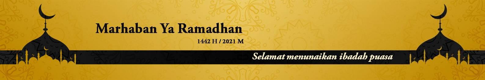 Banner marhaban ramadhan
